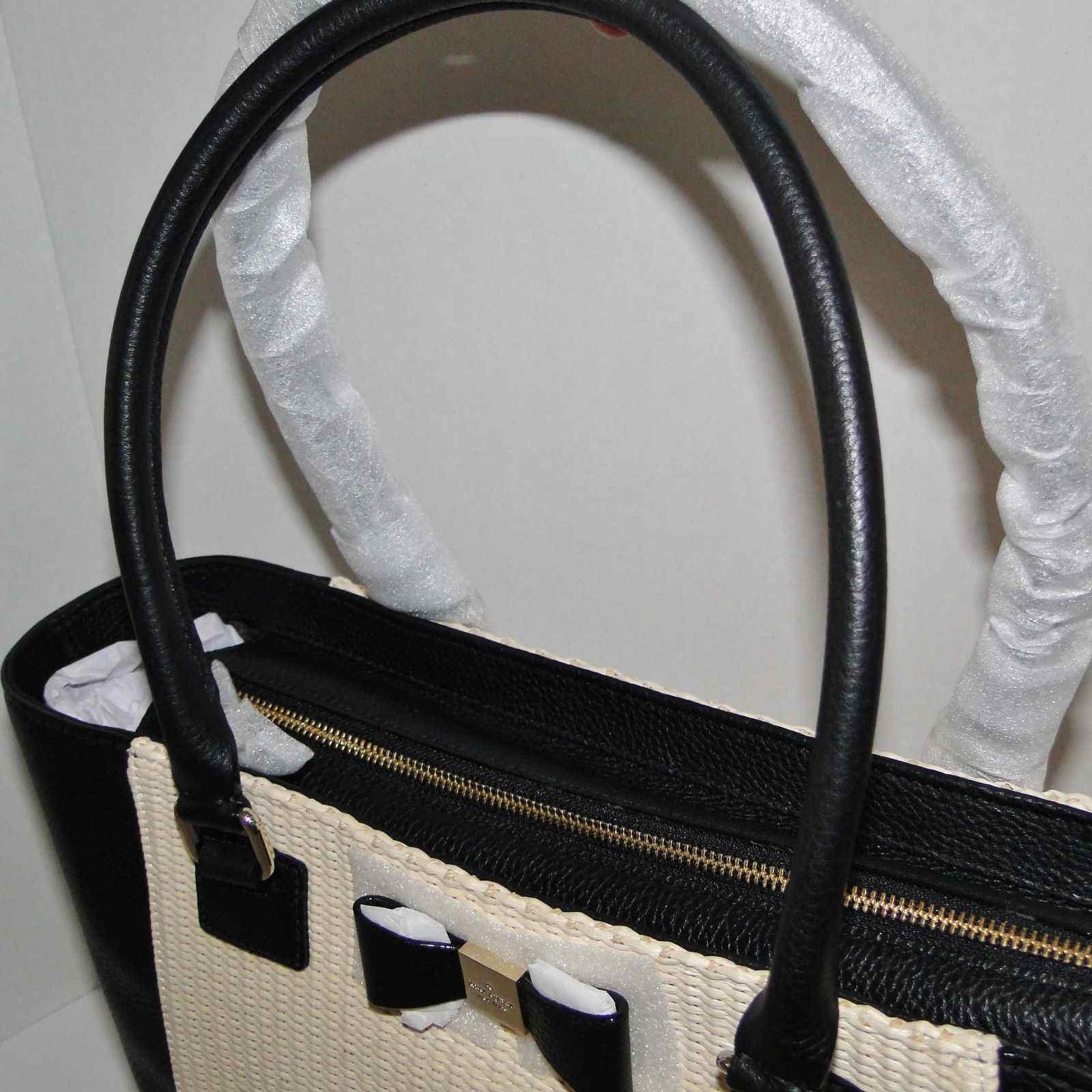 Kate Spade Francis Renny Drive Straw Tote Shopper Brand New