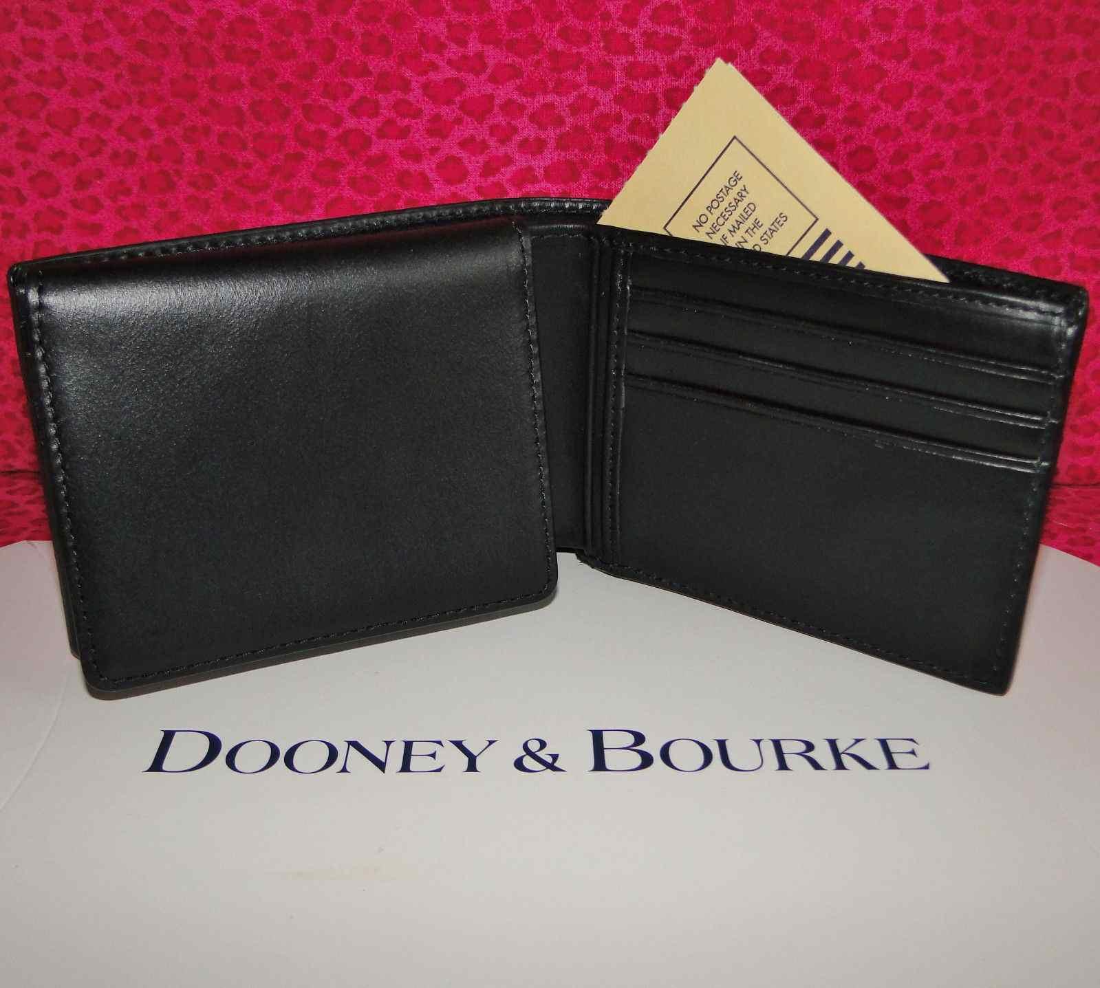 Dooney & Bourke Florentine Leather Black Wallet