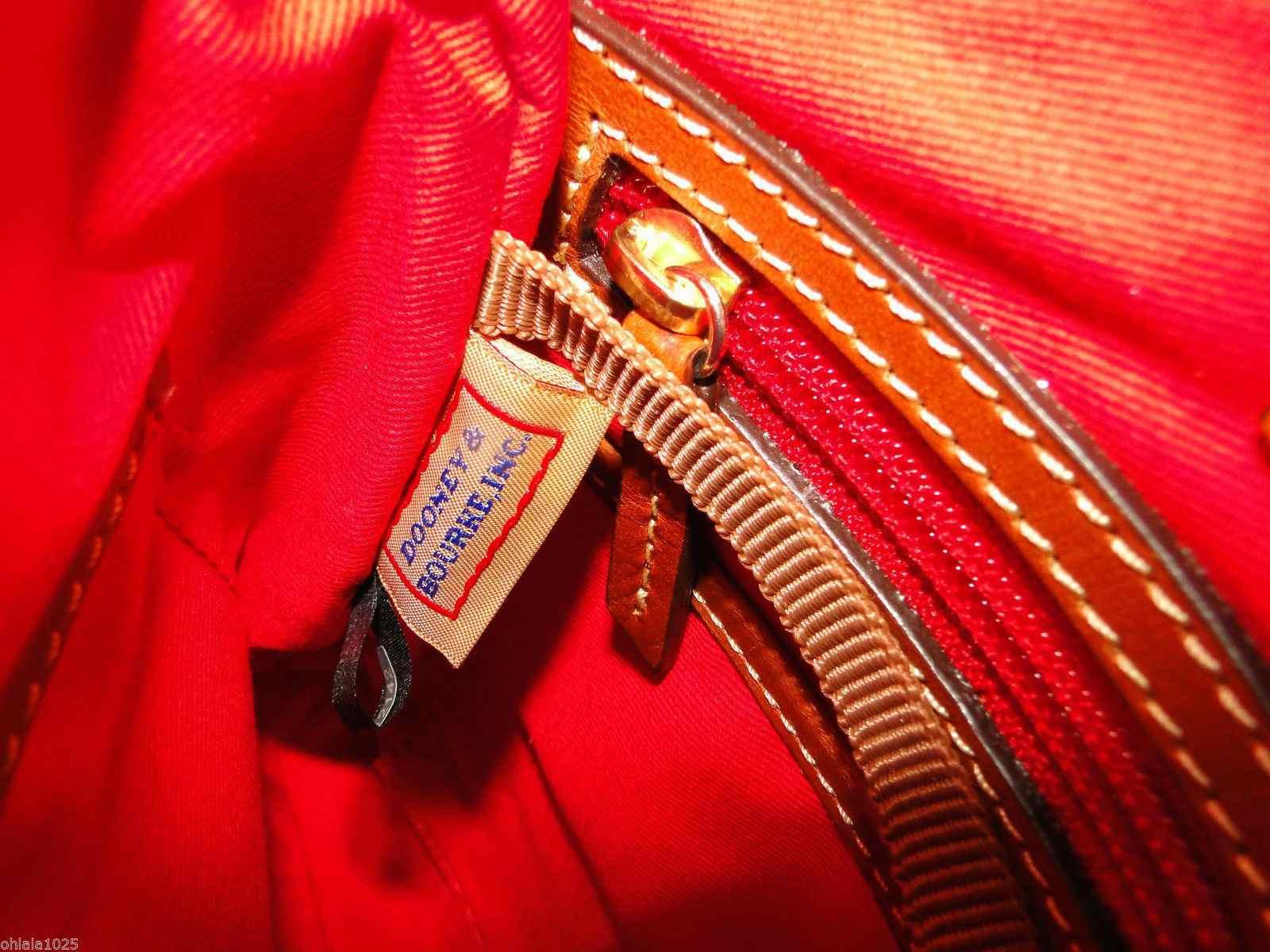 Dooney & Bourke Pebble Leather Crossbody Spring Fuchsia