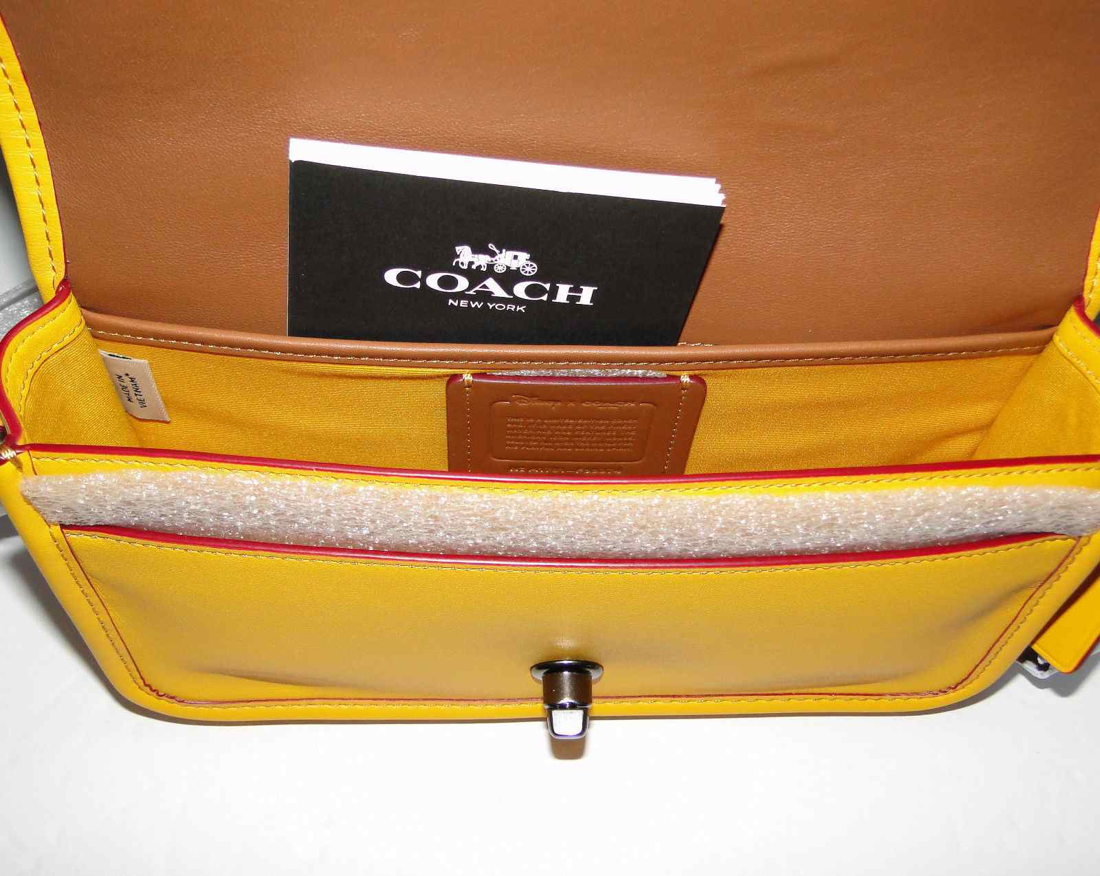 Coach Disney Penny Mickey Mouse Crossbody Banana F59374
