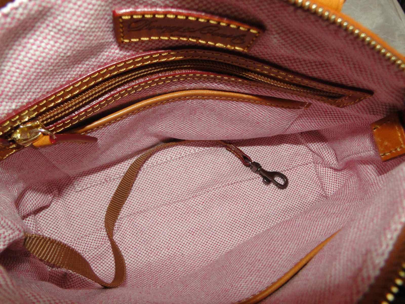 Dooney & Bourke Dillen Pebble Leather Small Crossbody Satchel