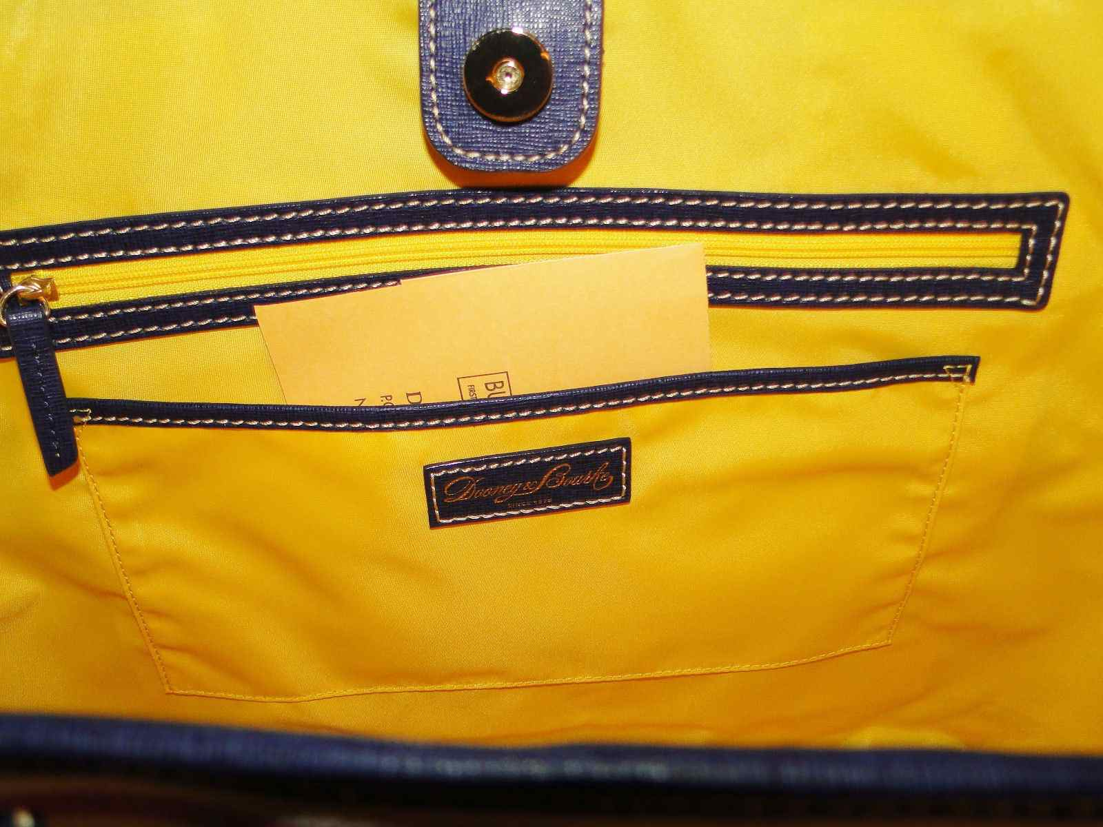 Dooney & Bourke Lois Striped Lg/XL Tote NWT Multi Color